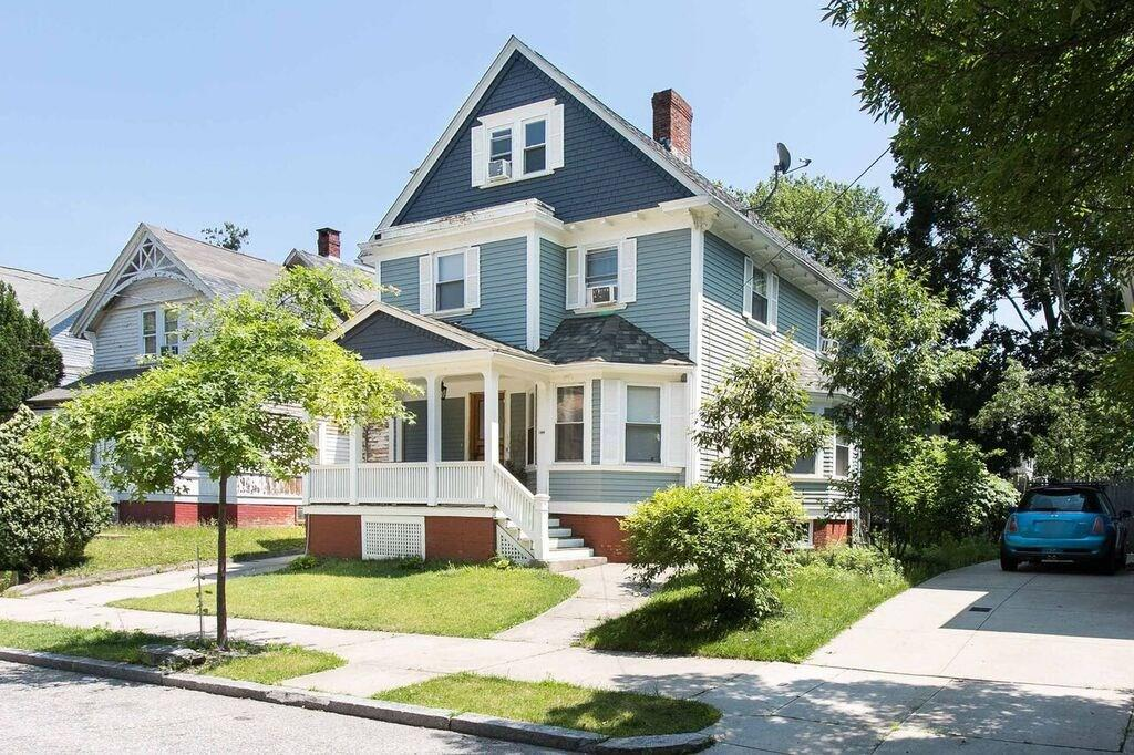 Perfect 5 bedroom, 1.5 bath Victorian home in the Elmwood district. Ready for your growing family! Beautiful upgraded kitchen and bathrooms! Home offers a lot of updates ! Hardwoods! Garage and a private yard. Home is conveniently located near everything!