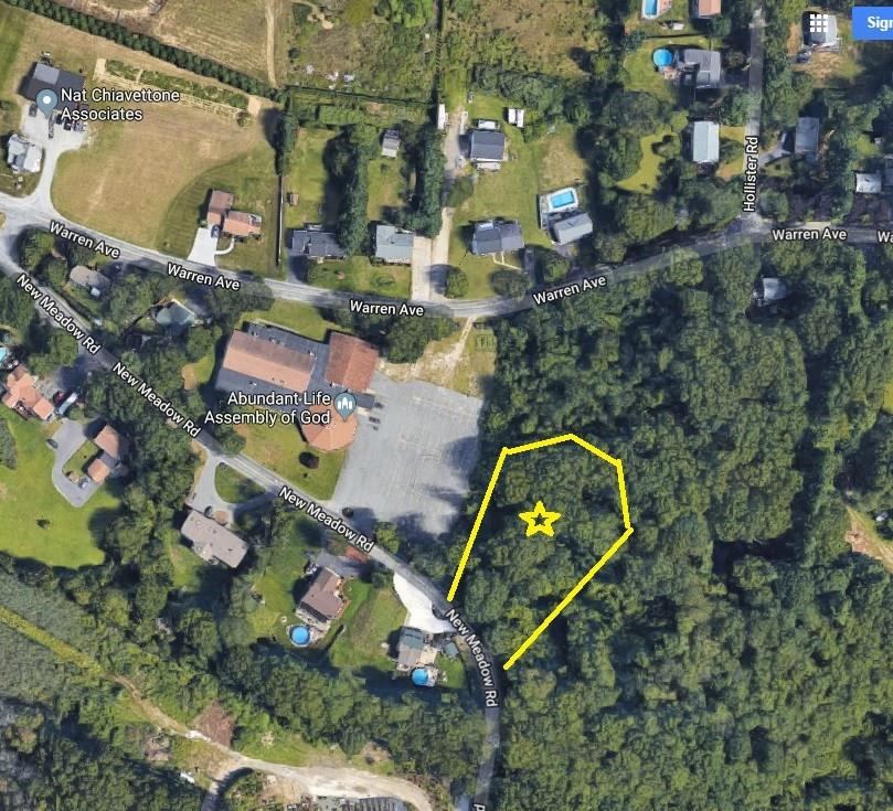 This is the opportunity you have been looking for! Land available on beautiful New Meadow Road in Swansea just before the Barrington state line. Perc tests complete, desirable perc test results, survey and septic design complete-not yet town approved. Trees have been cleared so you can easily see how much yard space you will have. The lot is surrounded by trees on the perimeter and along the rear property line giving you privacy in the back yard. Public water and electricity at the street. The convenience of living at this location would be incredible! Near private and public schools, shopping, easy Route 6 and highway access! There are four lots in total to choose from. There are two lots on New Meadow and two other parcels on Warren Avenue. Call today for a land tour.
