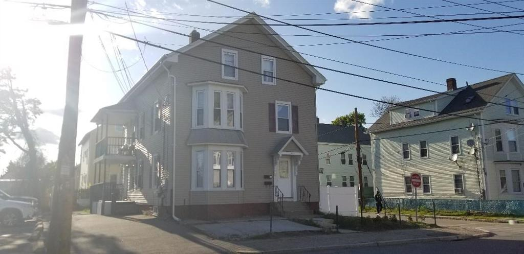 Great 2 Family Home with one large Town House Unit for the 2nd and 3rd floor. New Roof and newer vinyl siding. House offers a lot of updates like flooring and Bathrooms. Good rental property or Owner Occupant Home. Spacious yard and good parking.