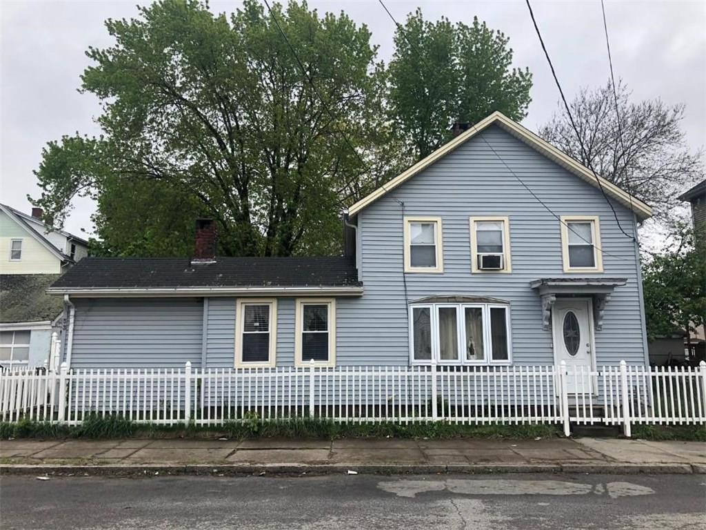 Two family home with 2 car garage. First floor has 4 bedrooms. Second floor is a 1 bedroom unit. Bonus extra living space in the basement. Great opportunity to live in one unit and have rental unit help to pay your mortgage! Easy highway access.