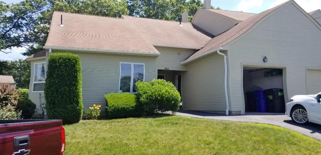 This is a one level unit in desirable Louisquissett . The unit has been completely redone with eat in kitchen, granite counter and stainless steal appliances. Unit offers an over size master suite, fireplace in the living room which has cathedral ceilings. Garage and laundry in unit. No pets and Non smokers.