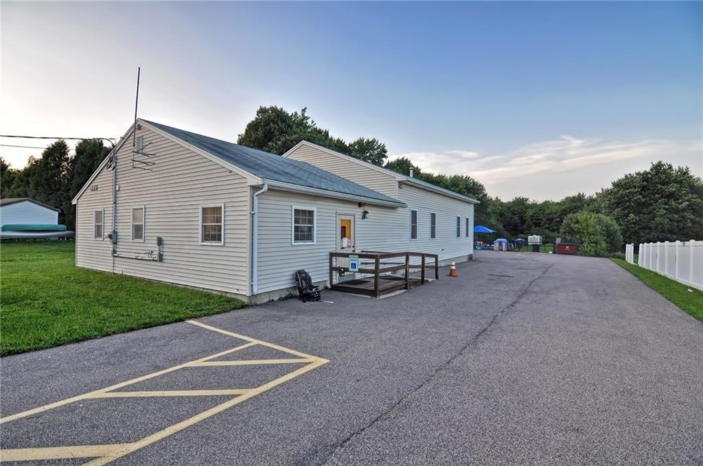 A fantastic business opportunity, residential/commercial mixed use. Turnkey, reputable childcare center, established for over 25 years. Thriving small business that includes all fixtures and fully equipped for daily business operations. There are 4 classroom infant, toddler and preschool featuring kitchenettes. Business operates at full capacity and there is also a waitlist. Classrooms were designed to stimulate the emotional, social, cognitive and physical development of each child. Playground consists of rubber flooring and shading. Seven educational staff are willing to remain. Owner will assist with licensing, transfer of ownership among new owners, parents and overall licensing process. The raised ranch includes large bedrooms, a double vanity bathroom and wood fireplace. Hardwood flooring is in great condition with an exterior deck leading to the backyard. Interior and exterior access to the lower level, also equipped with a full kitchen and laundry room. Schedule your tour today!
