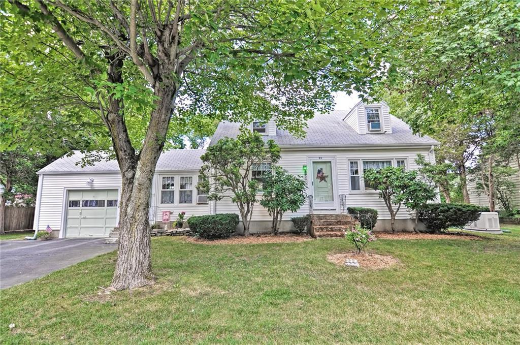 Welcome to 86 Grassy Plain! This home is being offered now for the first time 50+ years! The pride and longtime ownership will shine through as you tour this beautiful property. Soaring cathedral ceilings and an abundance of natural light will welcome you as you enter through the heated/finished breezeway. The floor plan gives you many versatile options. Potential single level living as there is a bed and full bath on first floor. 3 beds on 2nd and half bath. Fully fenced in yard and extremely private rear wood deck hugged by the house and garage with a beautiful view of the serene spacious backyard featuring a stone wall, trees lining the perimeter and mature landscaping. Other updates include: Boiler replaced in 2007, high efficiency hot water tank installed last year, whole house Generac generator installed in November of 2018 along with upgraded 200amp panel.