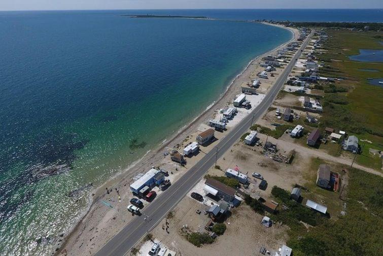 OWN YOUR OWN PERSONAL BEACH! Frontage directly ON THE BEACH with unobstructed views of the ocean and can even see Martha's Vineyard on a clear day! Almost a HALF ACRE with 75ft of frontage! This lot includes a turn key 30' camper w/ full bath, bedroom, kitchen and living room, 250 gallon tank for fresh water, 1000 gallon septic tight tank, and a deck. Stay here all summer long or easily rent it when you're not there. Seasonal permit is required from the Town of Westport for the trailer from May 1 through October 31. Many other beaches near by, fishing, surfing, multiple boat ramps, Audubon hiking trails, and some of the area's best restaurants within walking distance.