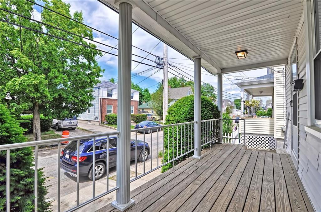 Charming single family with 3 bedrooms located minutes away from Providence and Johnson Wales. New furnace, new carpeting throughout, new kitchen, new roof, new deck, new appliances, there's nothing to do but move in. Cute deck overlooking the fenced in yard.