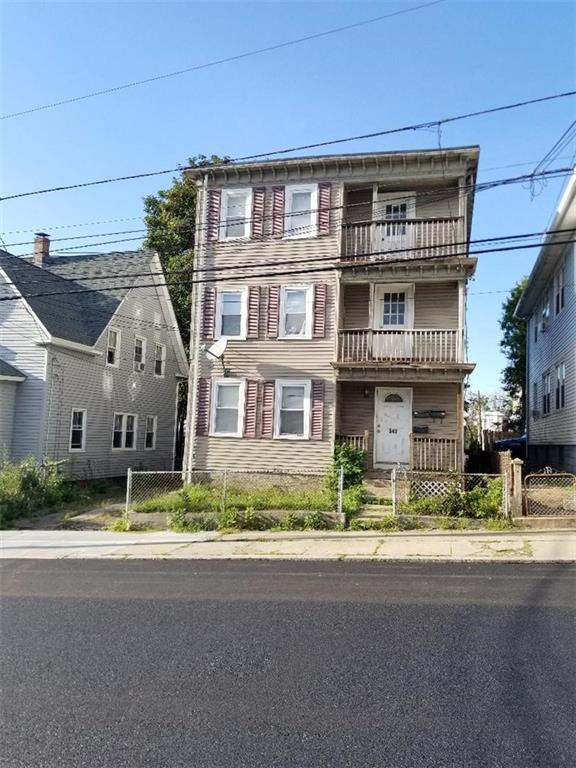Move in ready 3 family home. Great for an owner occupant buyer or investors. Updated units. Every apartment has 2 bedroom and a spacious bathroom. Plenty of off street parking spaces for this property. FHA financing is welcomed.