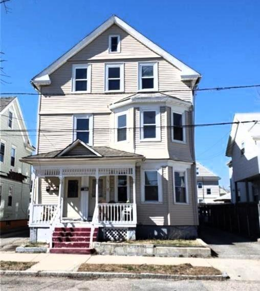 Location! Very desirable neighborhood. Spacious 3 family with 3 bedrooms in each unit. Plenty of off street parking and yard. House has been updated and has a new roof just installed.