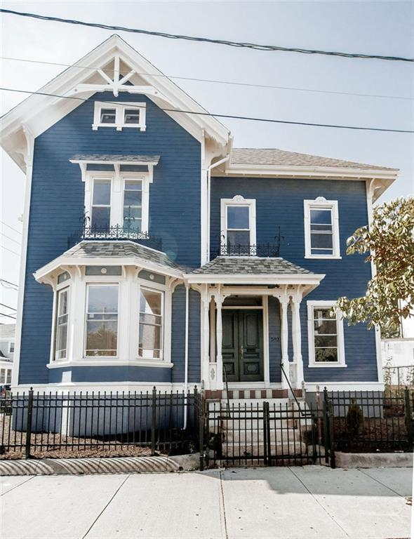 Timeless architectural character in this beautiful 2 family victorian. Beautiful carpenter and hardwood floors. Remodeled bathrooms and kitchens. Home offers new a roof and plumbing, electrical and plumbing. Good potential for a nice office unit as well.