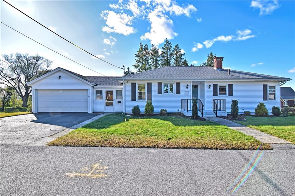 Welcome to 23 Mohill Avenue located in desirable Gardeners Neck area of Swansea! Single level living composed of an enclosed front porch,eat in kitchen, large 23x13 living room with wall to wall carpeting and an abundance of natural light, 3 bedrooms with hardwood flooring, and 1 full bath. Other features include 3 zones of NATURAL GAS heat, interior and exterior access to unfinished basement, closet space and wood cabinetry in kitchen. Just minutes away from Swansea shopping plaza and highway access. All appliances included in sale. **SELLER TO INSTALL SEPTIC PRIOR TO CLOSING**