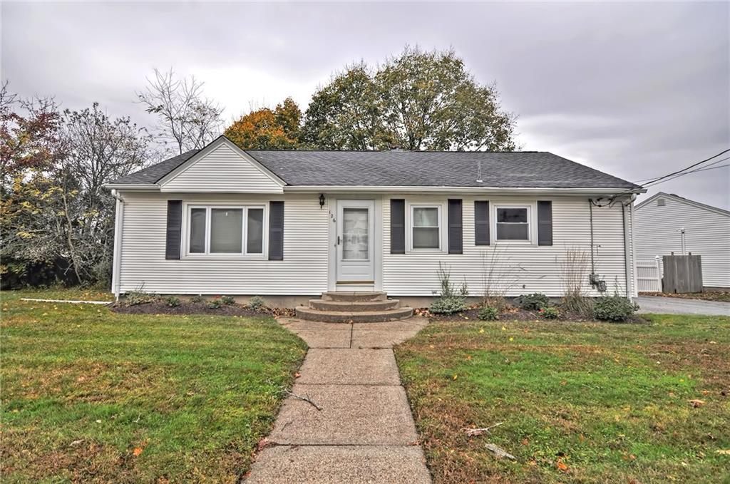 Single level living! This ranch features an updated kitchen with granite counter tops and stainless steel appliances. replacement windows, hardwoods and central air. Plenty of storage space and a partially finished basement. Composite deck and private fenced in backyard. Easily accessible to highway and excellent school system. Schedule your tour today!