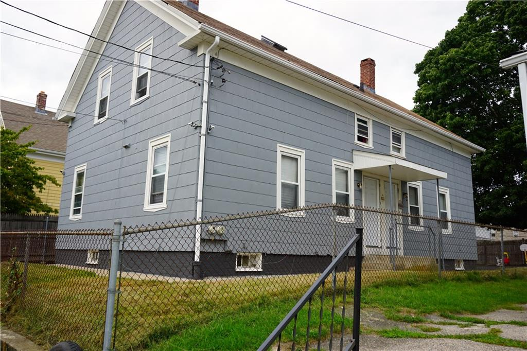 Nice sized duplex style multi family home offering 3 beds and 1 bath on each side. Full basement with private access on each side plus laundry hookups. Off street parking on newly asphalted driveway and backyard. Great opportunity for owner occupant.