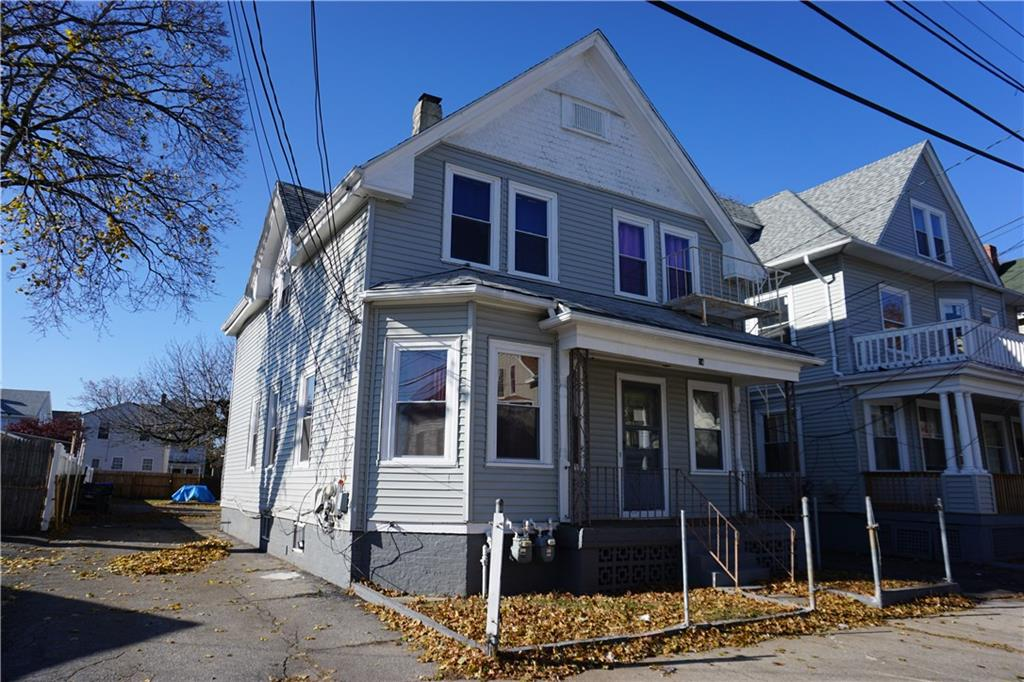 Great opportunity to purchase a nice sized 2 family home!! Each floor offering 2 beds and 1 bathroom. Newly sided, new windows, and plenty of parking. Located close to schools, shopping, hospitals, etc. Call today to schedule your showing.