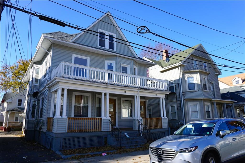Huge two family home with 3 bedrooms on each floor as well as potential for an in-law. Off street parking located in the rear of building. Exterior updates include new siding and windows. Located close to schools, hospital, shopping, etc. Schedule your showing today!