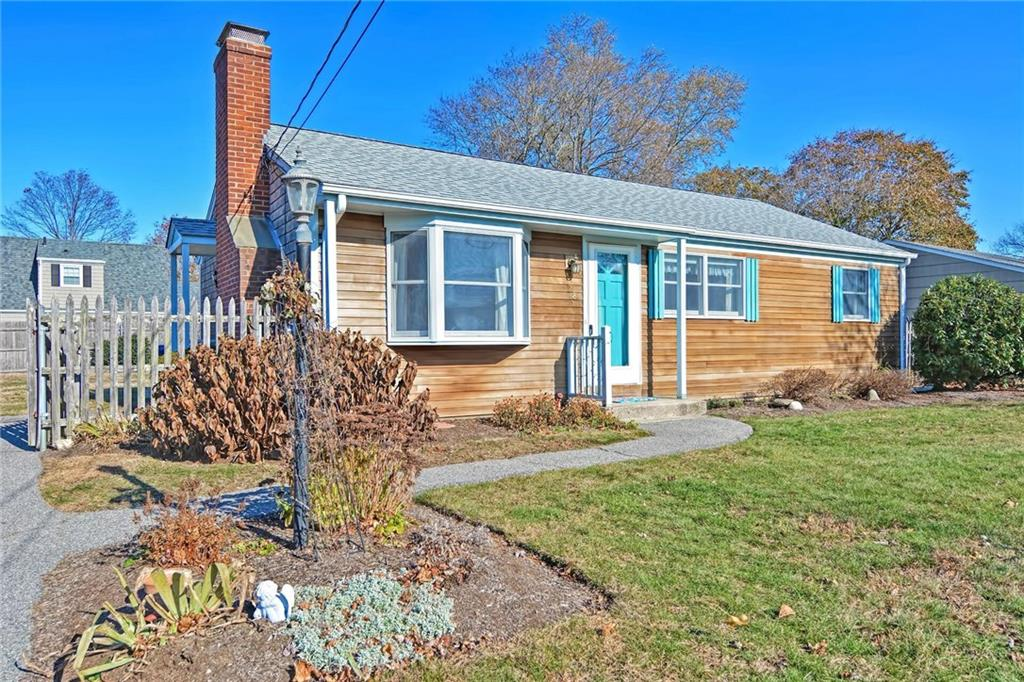 Pride of ownership for over 50 Years! This wonderful 3 Bed Ranch has been meticulously maintained, Located in a quite and sought after neighborhood. Hardwood Floors throughout , Architectural Roof Shingles, White Cedar Shingles and Clapboards, Freshly Painted, Living room with Fire Place, fenced in yard. Close to Rt 195 and minutes from Providence. Don't wait to see this one, it will be gone before you know it.