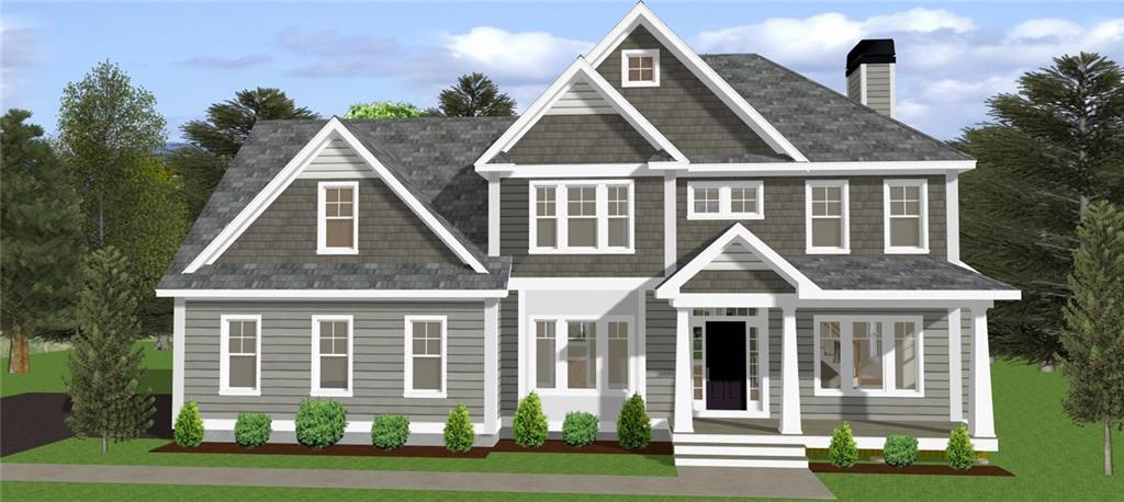 """Welcome to Windrock Acres, a Spectacular 12 Lot Seaside Neighborhood Development! Build Your Dream Home with Meridian Custom Homes, One of New England's Finest Home Builders. Meridian Custom-Designed Exterior Featuring a Stunning Mahogany Front Porch Accentuated with Decorative Columns. Interiors Feature a Spacious & Open Layout with 9 Foot Ceilings, Interior Transoms, Elegant Moldings & Trim Details, Custom Granite Kitchen w/ 42"""" Kitchen Wall Cabinets & Expansive Island for Dining & Entertaining, Tile Backsplash, Custom Wall Detailing in Dining Room, Crown Molding, Wood Burning Fireplace in Family Room with Marble Surround & Wood Mantle, Central Air, Private Master Suite with Luxurious Tile Shower, Double Sinks & Walk-In Closet, Pella Windows, Low Maintenance Exterior, Private Rear Deck & 2 Car Garage. Other Home Styles and Floor Plans Available. Call Today for Details! *Photos May Depict Additional Features Not Included Herein."""