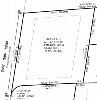 APPROVED DUPLEX LOT - RARE FIND Offering Incredible Opportunity to Build and Own a Multifamily in the Heart of Portsmouth! Combine Households with Family or Simply Live in One Unit and Collect Rental Income from the Other Unit! This Fully Approved Buildable Homesite Consists of .70 Acre (30,455 sf.) and Offers Underground Utilities, Natural Gas, Town Water and Septic System. Bring Any Builder and Enjoy Life on The Island and Close Proximity to the Beaches! Only 15 Minutes to Newport and 30 Minutes to Providence.