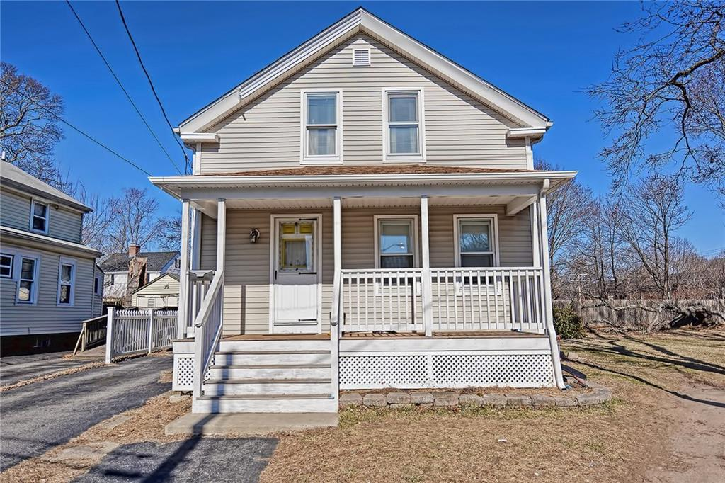 New to market in Rumford! Located on quiet corner lot, this home features updates done in recent years including flooring, vinyl siding, new porch and more. Plenty of off street parking, one car garage and shed for additional storage. Peaceful neighborhood conveniently located to enjoy nearby amenities. Come see all this home has to offer!
