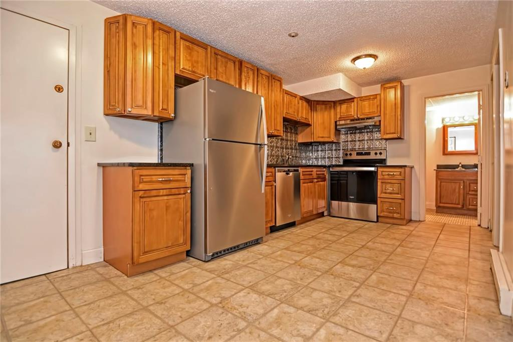Why rent when you can own? Brand new stainless steel appliances and located on the first floor. Low condo fees covering water, trash and sewer. New roof completed only two years ago. No pets allowed. Come schedule your tour today!