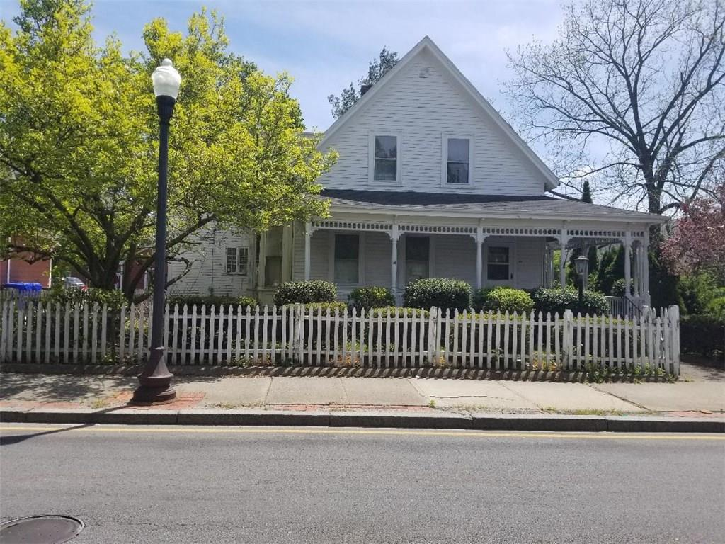 Beautiful Victorian with all the original charm. Very spacious living rooms and 6 Bedrooms. Hardwood floors in all the rooms. 2 car barn garage. Rehabbers and investors take notice at the beautiful restoration project. Cash offers only.