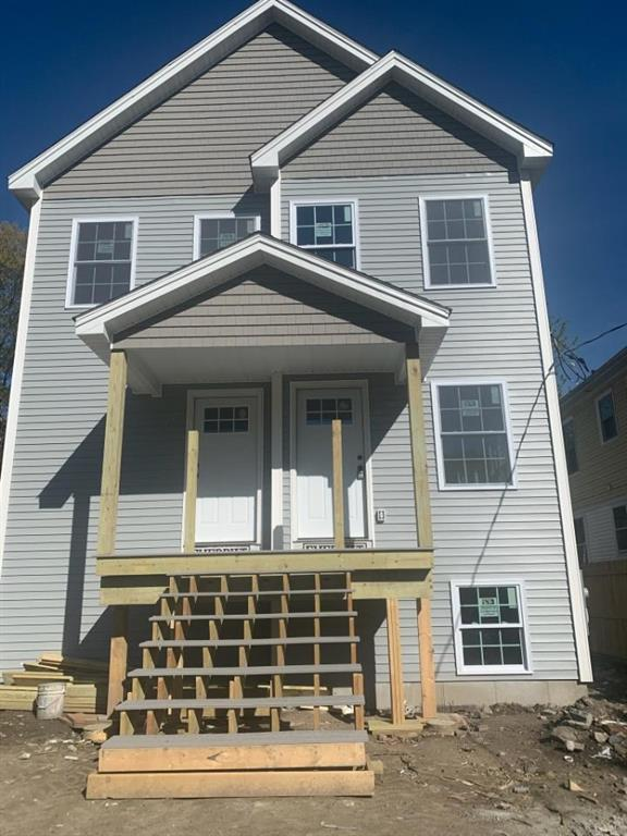 New Construction, 3 bed and 2 bath each floor.