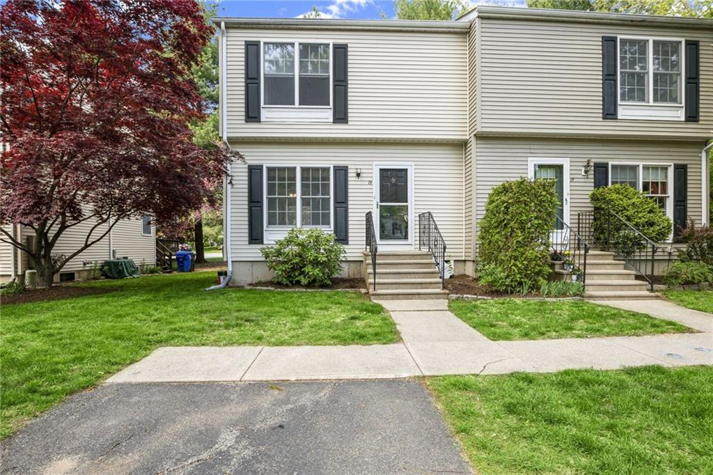 The Perfect Location In Rumford! This Charming 2 Bedroom Townhouse Style Home Is Located On A Dead End Street In A Quiet Community Right Up The Street From Wannamoisett Country Club!  This First Floor Of This Home Features Bamboo Flooring In The Sun Drenched Family Room, A Gas Stove That Can Heat The Entire Home, A Dining Area That Abuts The Family Room And Kitchen, A Well Appointed Kitchen With Egress Through The Pella Slider That Will Lead You To The Exterior Deck Out Back, As Well As An Updated Half Bathroom.  The Second Floor Features A Large Master Bedroom With A Plethora Of Closet Space, An Additional Guest Bedroom, And An Updated Full Bathroom.  The Home Has A Brand New Hot Water Tank, Freshly Painted Interior, An Abundance Of Closets And Storage Space, 2 Assigned Parking Spots, A Full Basement With Laundry Hook-Up, Great Location With Mature Trees Surrounding And Privacy, Only One Abutter, And Located In The Myron Francis Elementary District! Call Today For A Private Showing!