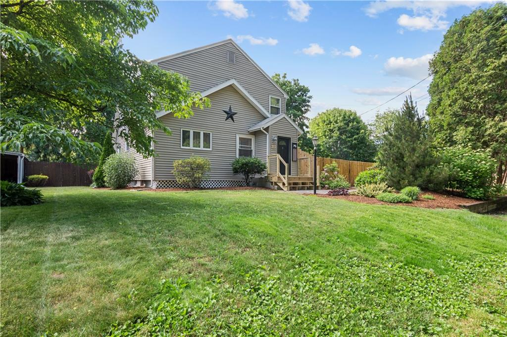This handsomely updated Dodgeville Pond home sits comfortably on its private oasis featuring an updated pool, covered deck, fire-pit area, and bonus yard space. Located across the street from the Pond - a great place to put in your canoe and catch some fish! Conveniently located, but tucked in a sweet neighborhood; this home offers two generous bedrooms and two baths with a bonus loft-like office and finished basement living space. The open dining and kitchen area have been updated over the past few years with new stainless steel appliances, flooring, and counters! The double living room has a modern rustic feel with the reclaimed wood feature and espresso stained stairs. Lovingly cared for and modernized over the last decade - sellers are ready to downsize to one level and move East. Natural gas has been brought down the street; potential to bring to this property. Subject to Seller obtaining and simultaneously closing on suitable housing. Highest and Best Offers due 5:00 PM on Saturday, June 27, 2020.