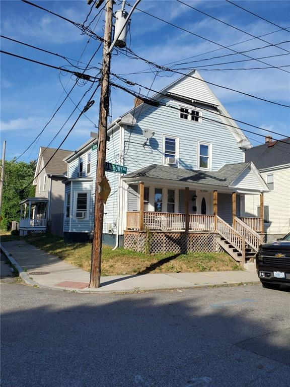 Well maintained home with gleaming floors throughout. Open flow 1st floor and updated appliances. A spacious staircase that leads to the bedrooms on the second floor