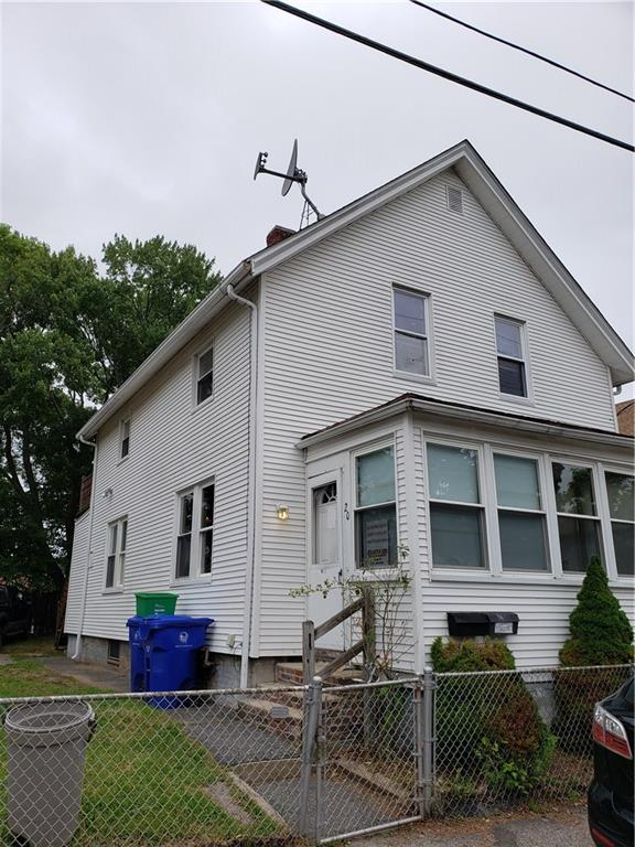 Great two family home in Pawtucket. Nice sized fenced in lot, newer mechanicals, needs some minor updating. Perfect for your next investment property or live in one unit and collect rents from the other!