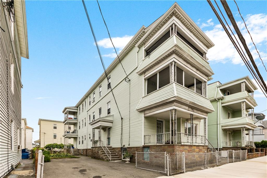 Here's your chance to own this large six family in Fall River. This 6,021 sf property is close to many amenities with quick access to 195. Spacious units with porches and a fenced in back yard. Great property for income or owner occupied!