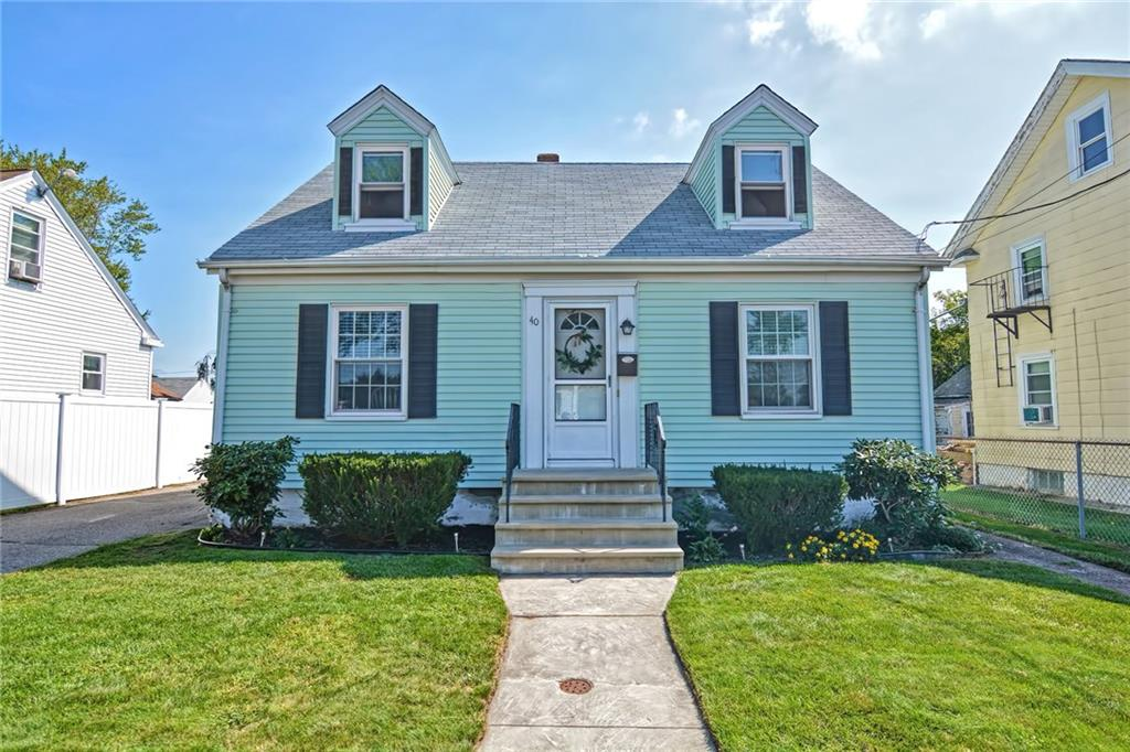 Please submit Highest & Best Offers by 1pm on Sunday, 9/13. You won't want to miss this bright 3-bedroom New England Cape Cod home tucked away inside a quiet Darlington neighborhood! This home has plenty of updates and boosts a new roof, new furnace, recently added central air, updated bath and refinished gleaming hardwood floors throughout! The kitchen features beautiful dove white cabinets, Corian countertops complete with backsplash, along with stainless steel appliances! Just off the mudroom leads to a landscaped, fenced-in back yard complete with patio area perfect for hosting cookouts & lounging! Other notable features include: 1st floor bedroom, 1st floor full-bath, formal dining room, built-in's in 2nd-floor bedrooms, basement has plenty of extra storage space, connected to gas, and town water & sewer.