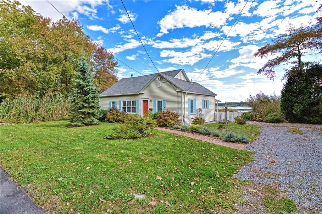 Stunning water views of the Palmer River from every room in this completely remodeled two bedroom two bath cottage. Recent upgrades include -Gleaming hardwood floors, recessed lighting, stainless steel appliances, granite countertops, gorgeous master suite complete with your own private balcony and walk in tile shower. Enjoy the water with direct access from your back yard. All within walking distance to the desirable Barrington blue ribbon school system, East Bay bike path, Kent Street tennis courts and a fabulous commuter location with a quick 20 minute drive to Providence.
