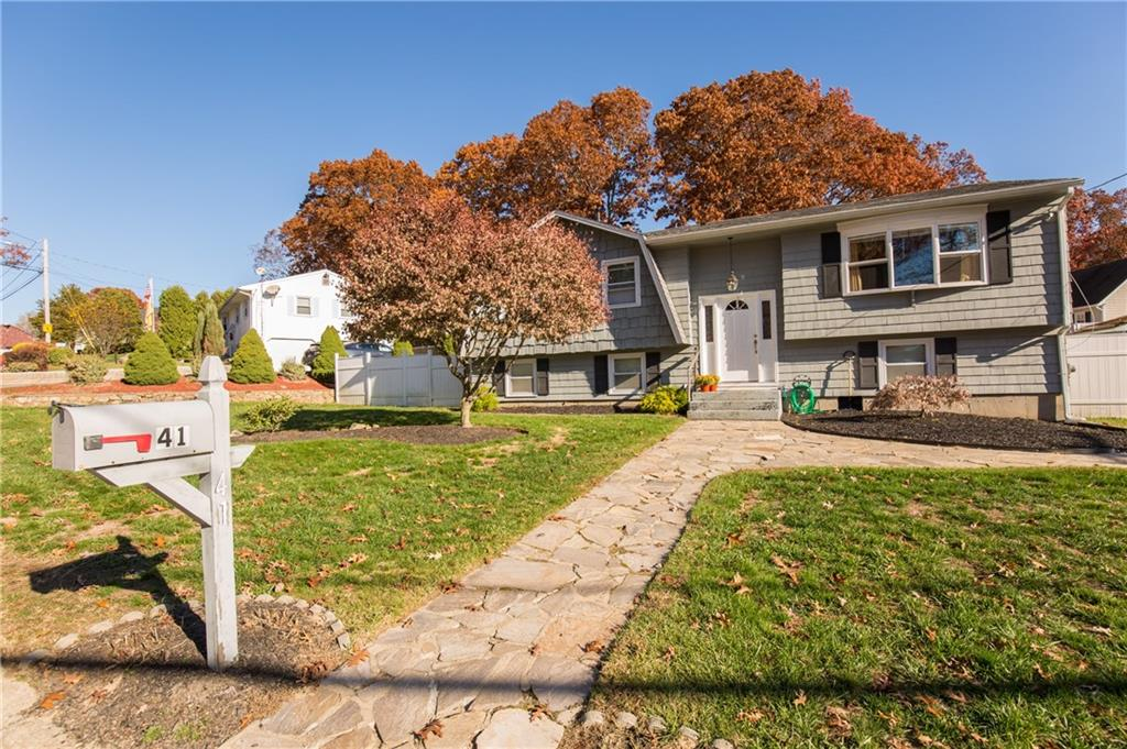Don't miss this beautiful Raised Ranch located at 41 Setian Lane with some great landscaping and fenced in yard. This house has 3 Bedrooms and 1.5 Bathrooms. Each bedroom has spacious space and enough closet space. Do not miss your opportunity on this great home. Call Now! Highest and Best are due by 11/17/20 @ 1pm