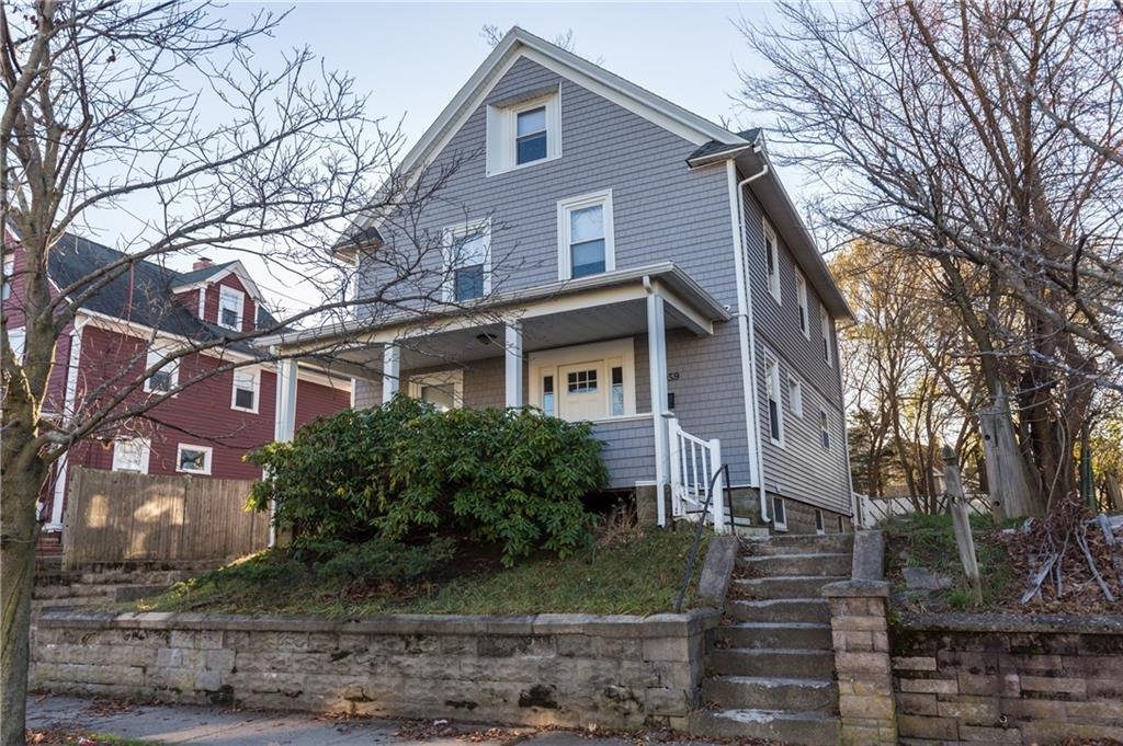 Welcome home to 1059 Narragansett BLVD in desirable Edgewood Neighborhood of Cranston. This large 5 bedroom, 2 full bathroom Colonial  is beautifully kept up with hardwood floors through three levels living. Don't miss out on your chance to make this your home.