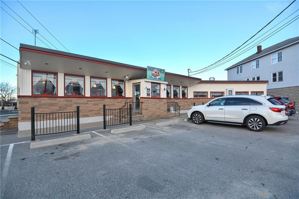 This amazing multi-use property includes a true turnkey profitable diner (even during the pandemic) and a 2-family home.  The diner is fully staffed and currently serves breakfast, lunch & homemade local ice cream 7 days a week! It seats 72 inside and on warmer days an additional 20 outside! The diner touts a brand new AC, high-efficiency gas boiler, hot water tank & new roof along with mostly newer kitchen equipment! The property is beautifully located amongst shopping centers on the well-traveled Route 44. The location itself has been an establishment diner since the 1950s; it might be a blast from the past but they are up and running with today's newest technology; brand new POS system and iPads used for ease of payment & order taking at the table allowing the kitchen to fire meals faster and increasing turnover. There are even QR codes located at each table for lack of menu handling. Additionally, they are partnered with the popular delivery services Uber Eats, GrubHub, and Door Dash. The house that accompanies this business was built in the 1930s and features a 2 bedroom unit on the first floor and a 4 bed on the second. Windows, electrical, roof, heating, and water tank have all been updated within the last 8 years! Connected to gas, public water & sewer with separate utilities for each unit! If you've been dreaming of owning your own restaurant, now's your chance to outright own your own business and buildings with the option to live on-site if wanted!
