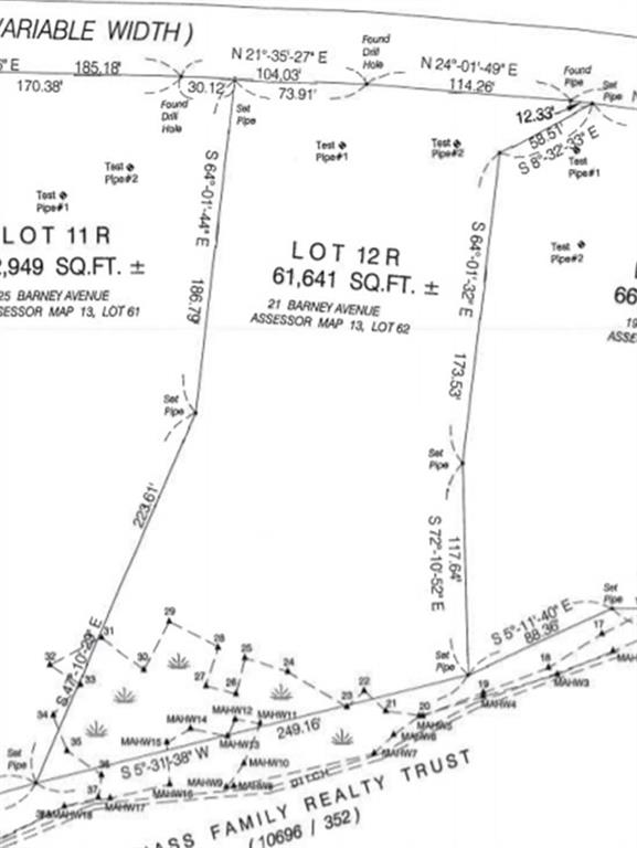 """These lots, exclusively offered by Oracle Homes are located in the most desirable location of South Rehoboth, near Rt. 6, Rt. 195 access and """"the golden mile"""" of shopping in Seekonk with all the major retailers making everyday living very convenient. Our homesites include 1 acre + useable areas, with deep back yards and a tremendous about of potential space for a pool, detached buildings, and many other potential uses. In fact, clients will have the option of either placing the house 60-80' from the road or cutting in a long driveway and setting the house far from the road for privacy, if desired. These lots are impossible to find and will not last. Complete home packages (including land and construction) are available starting at $575,000 and up with a 10% deposit. Avoid being at the mercy of the resale market; it's time to build your home and get everything on your wish list!"""