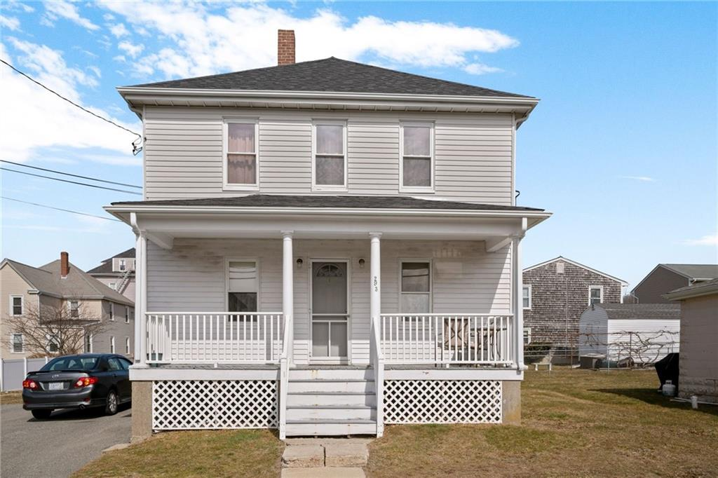 Investers take notice. Two family in a great location minutes from all that Downtown Bristol has to offer  with a buidable lot located on West street. Two bedrooms in each unit with washer and dryer located in basement. New boilers, plumbing and electrical have been all updated.
