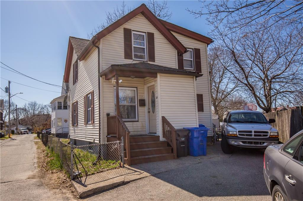 Take a look at the tastefully updated 3 bedroom 2 full bathroom home located in Pawtucket. Modern kitchen with stainless steel appliances, hardwood flooring and low maintenance vinyl siding. You don't want to miss this one, book your showing today!!