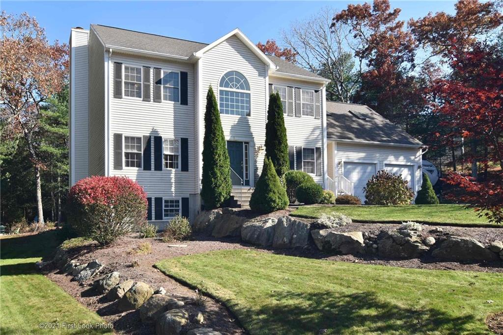 This well-maintained Colonial in the great neighbor of Shannock Woods features 3+ bedrooms, 3.5 Baths, Large Eat-In Kitchen, a bonus room and finished basement. As soon as you walk in, you are greeted by nice hardwood floors and stair case leading to bedrooms on 2nd floor. Master Bedroom is oversized with equally large closet and 2nd level also features a bonus room (for a potential 4th bedroom). The finished, walk-out basement is presently used as a man cave, and has potential for another bedroom/in-law and includes a full bathroom. If you are looking for a great home, in a great neighborhood then 54 Moraine Court is a great fit for families of all sizes. Sale of home is contingent upon SELLER FINDING SUITABLE HOUSING.
