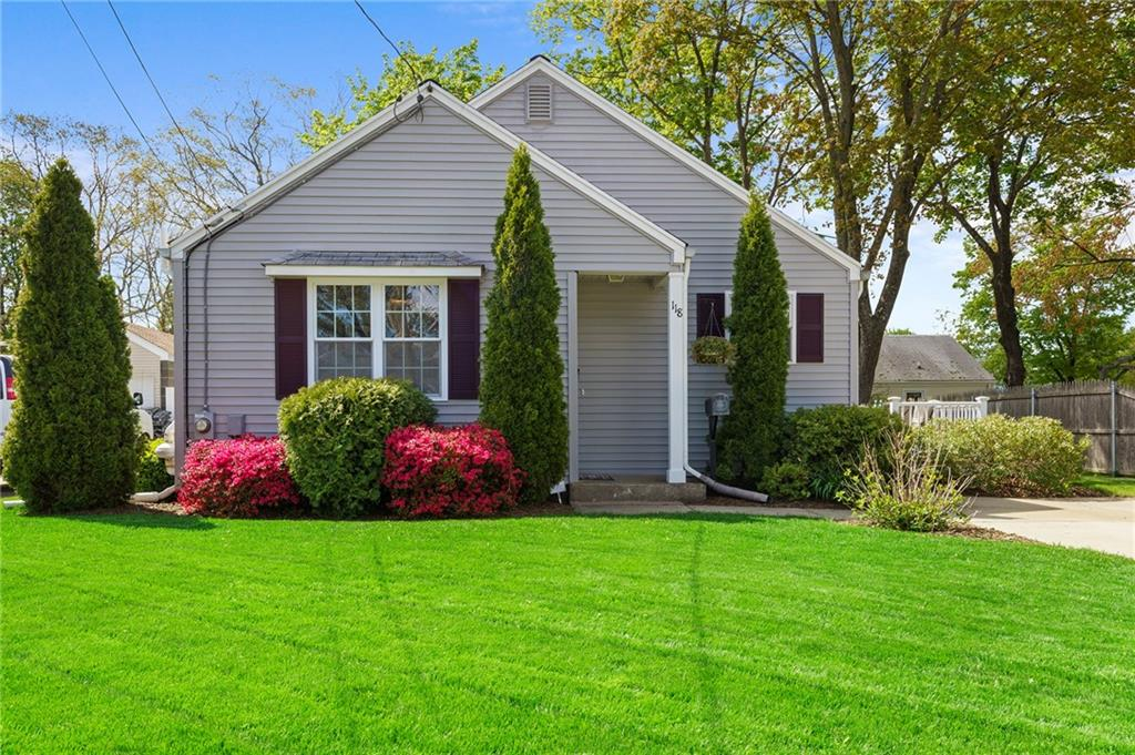 Located in the sought-after Pinecrest/Darlington neighborhood of Pawtucket, this updated and meticulously maintained ranch features an open floor plan, gleaming hardwood floors, updated eat-in kitchen with tile backsplash, recessed lighting, and stainless steel appliances. Includes three picture perfect bedrooms, freshly painted interior, and a lower level which adds to the versatility of the floor plan. The finished basement features an additional family room, play room or office with a half bath. Strong and highly efficient mechanicals with a state of the art Buderus heating system, natural gas heating and 100 amp circuit breakers. Step outside to enjoy a private and spacious rear yard with mature landscaping, pristine lawn, storage shed and a freshly painted side deck where you can enjoy your own private oasis this summer! This is a fantastic opportunity to invest in a beautiful and quiet area. Just a few short minutes from highway access, shopping, Providence and two commuter rail stations. Virtual showings available upon request.