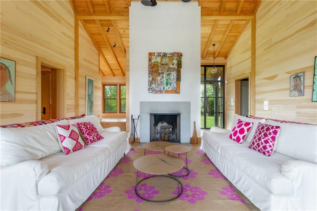 Main House Kitchen - Oak Island Counter Top - Basaltina Stone Counter and Arne Jacobsen Kitchen Faucet
