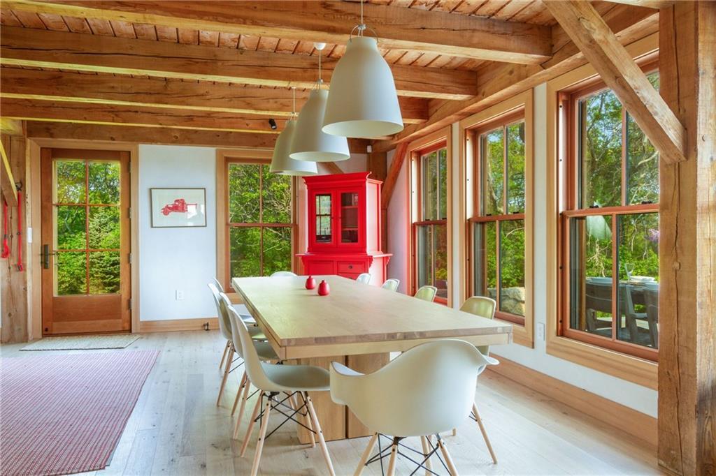 Main House Study/TV Room - Views of the Atlantic Ocean