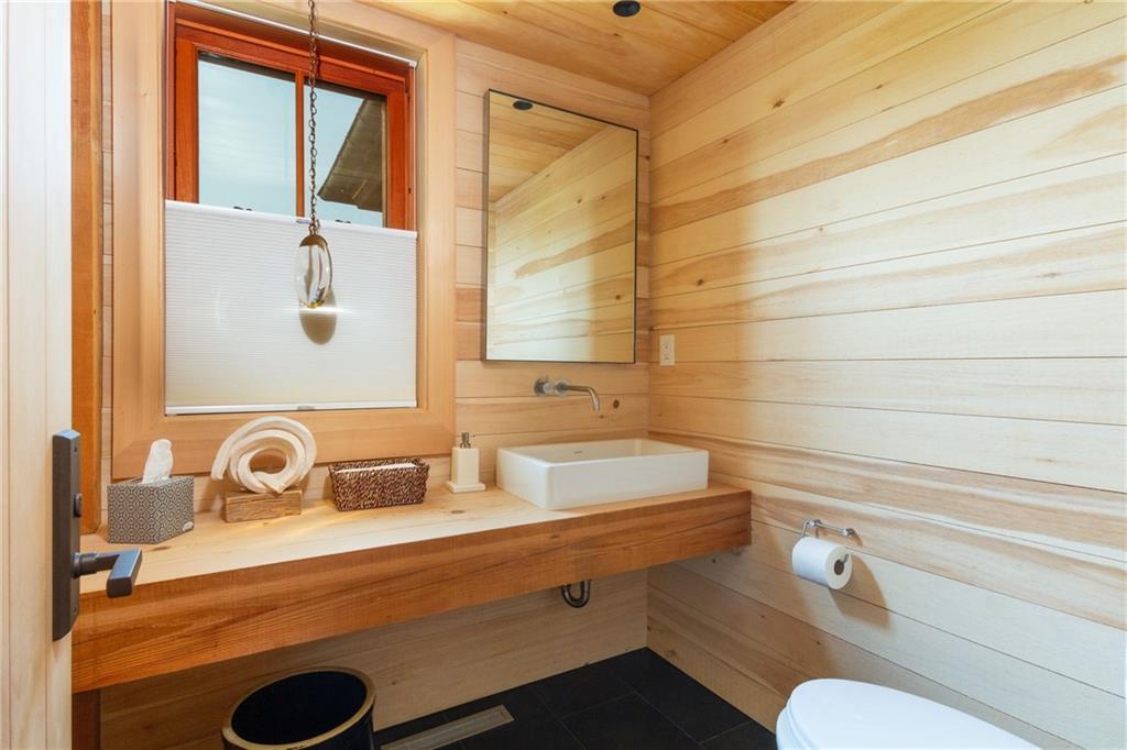 Master Bath - Caesar Stone Counter - Dorn Bracht Fixtures - Ann Sachs Bathroom Tile