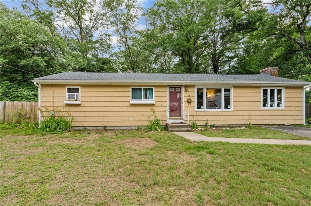 This updated single story home has an open floor plan and lots of living space. Hardwood floors, 1.5 bath, and vaulted family room with fireplace! Sellers installed a new above-ground pool with fenced-in pool deck with still plenty of time to enjoy this summer. The freshly finished basement offers a nice second living space to relax! Young roof, windows, appliances, and mechanicals! This home has been fully insulated by RISE, chimney has just been cleaned, and new Generator hook-up installed. This home is close to shopping and the bike path - in a quiet, winding neighborhood. Sellers have secured their next home to enjoy with their parents, offering this updated and warm space for you to call home!