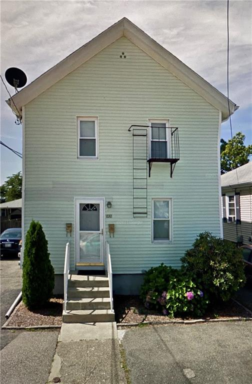 Wonderful 2 family property located in the heart of East Providence. Offering 2 bedrooms in each unit, living room, kitchen, and bathroom. A quaint little backyard, and off-street parking. Located close to just about everything you may need. It will definitely not last long, Call for your showing today