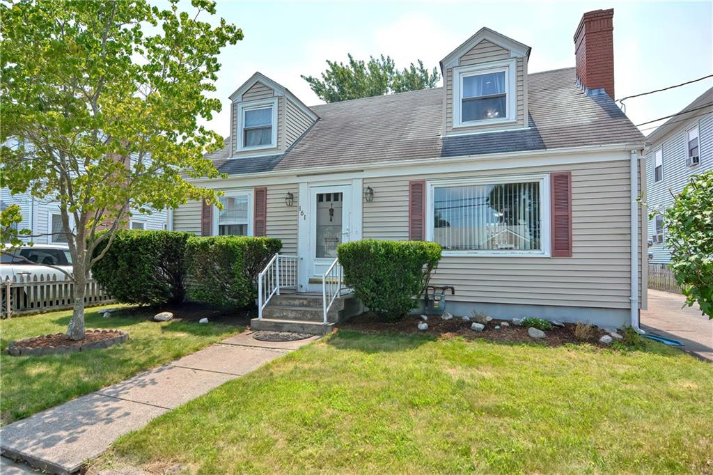 """Welcome to Whittier Road! Charming """"As-Is"""" Cape nestled in the Slater Park area of Pawtucket. Great location, just a block from Armistice Blvd, a few minute walk to Slater Park, the bike path & Near Everything! Loads of potential for this home which boasts newly installed IBC On-Demand Gas Heat and Hot Water System, 2 car detached garage, plus paved, off street parking for at least another four vehicles. Along with 2 Full bathrooms with tub/shower - City records indicate this property as a two family, and can easily be converted back as it has two electric meters and dual 100amp panels with circuit breakers. Currently is utilized by just one family, but imagine the legal In-Law possibilities. Added family room with walk out deck leads to mostly fenced backyard area. Fire pit to stay. Small office flatscreen TV and Mount included! Full basement with sink and Maytag Washer / Dryer - lots of storage area & workbenches included. Mostly original hardwoods in formal dining room and bedrooms on both levels along with tile, laminate and vinyl. Property is being sold """"As-Is"""". Contents will be removed prior to closing, but most items are negotiable. Buyer and Agent to do all due diligence and research. A little work and some new ideas can really transform this """"blank slate"""" house into Your beautiful new home. Showings deferred until first open house weekend.  See you soon and Welcome Home!"""