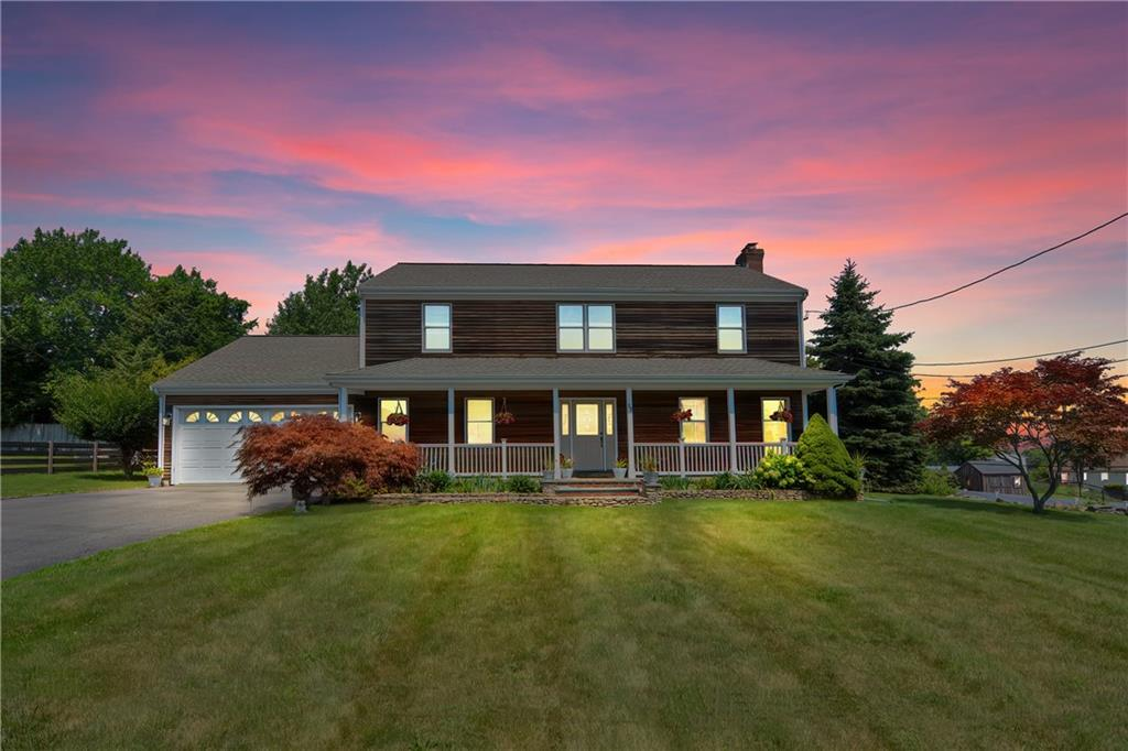 Here is your chance to move into this spacious custom built colonial that has been lovingly cared for by its original owners. This 2500 sqft home offers 4BD/2.5BA, a two car garage and much more. Generous sized rooms featuring a stone fireplace in the living room with double sliders to the back deck that can be accessed through the living room and dining room. Stainless steel appliances with gas cooking in the kitchen with lots of counter space and cabinets. Off of the kitchen you have another living room that would also be great as a home office. Past the kitchen and down the hall to the two car garage is a half bath with laundry. On the second floor you have the master bedroom with walk in closet and and full bath in addition to a full bath and three bedrooms with large closets. Additional storage above the garage can be easily accessed through one of the bedroom closets along with more storage in the attic. This home gets a nice breeze from Mount Hope Bay but if central air is preferred, the air ductwork has been completed and is ready for HVAC to be connected. Located in a nice, quiet neighborhood with nearby waterfront dining, attractions and amenities.