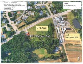 1476 Scituate Avenue, Cranston, Rhode Island 02921, ,Land,For Sale,Scituate,1294956