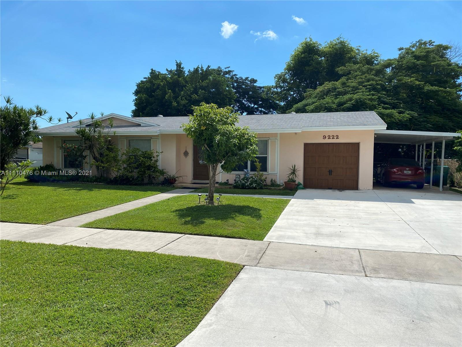 9222 SW 182nd St  For Sale A11110476, FL