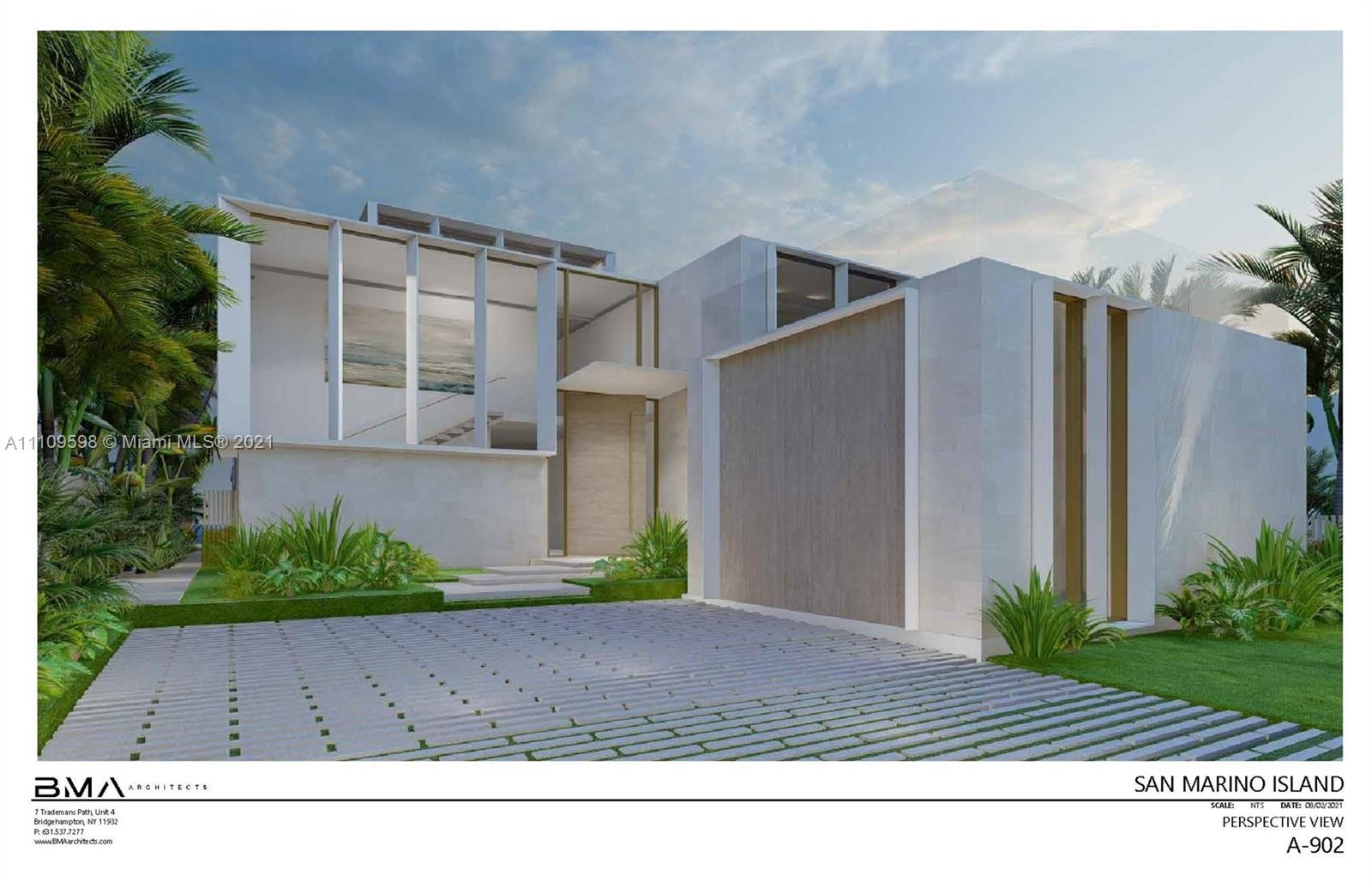 One of the Last remaining South West Facing Homes on Venetian Islands. This home will be delivered with impeccable finishes and one of the best Skyline Views Miami has to offer.  Designed by Award Winning BMA Architects this home will be in a class of its own. The land and plans can also be purchased separately for 16m.  Please call Listing agent for additional info. Floor plans attached.