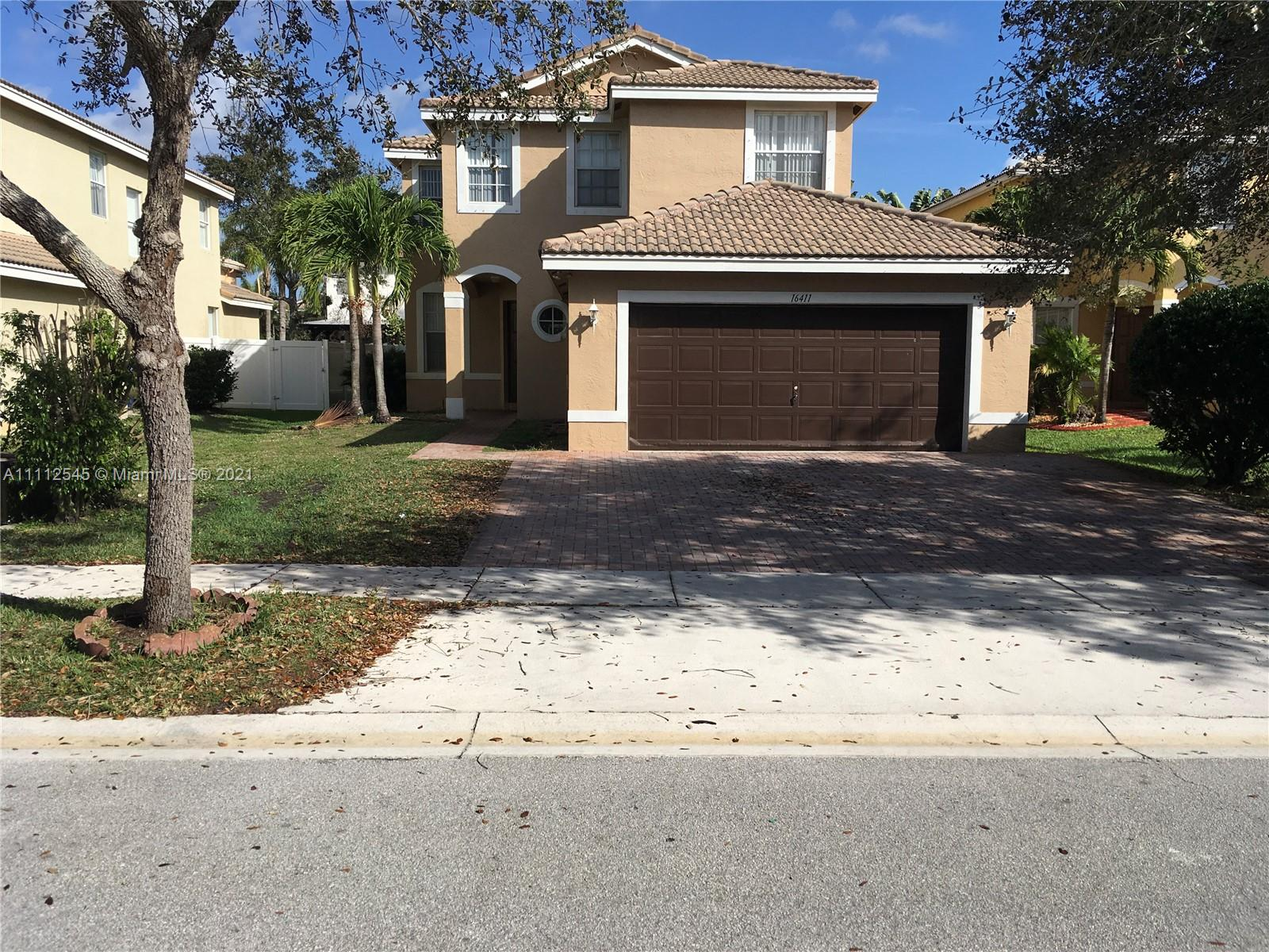 16411 SW 28th St  For Sale A11112545, FL